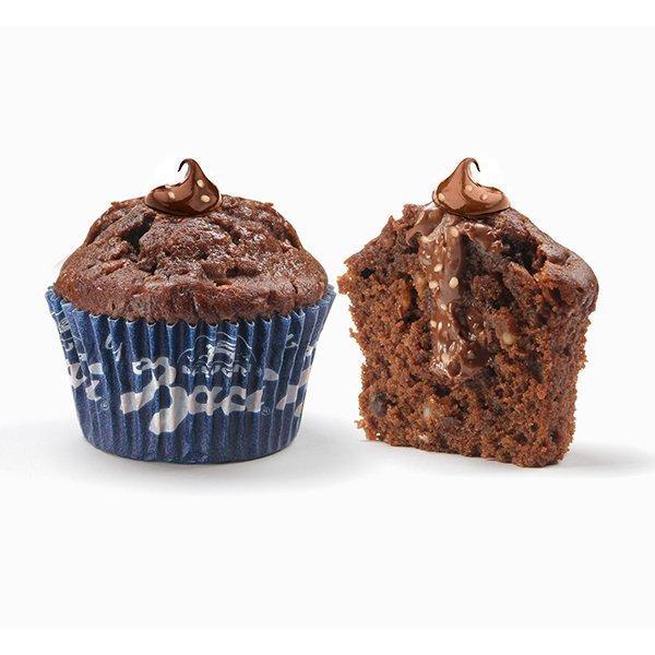 Muffin by Baci con crema alla nocciola Baci®Perugina® e crema al cioccolato fondente Perugina