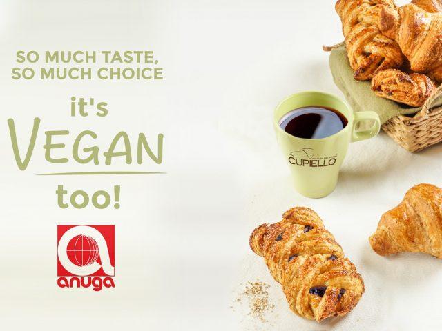 Discover the latest news from Cupiello Vegan range at Anuga