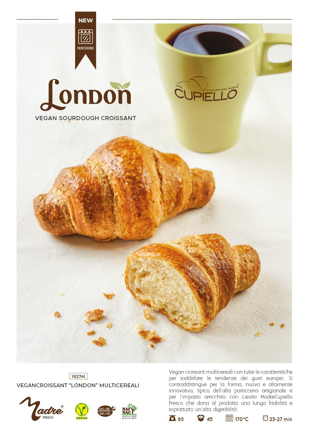 display A4 London Vegan Croissant